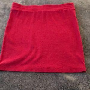 Forever 21 Burgundy Skirt